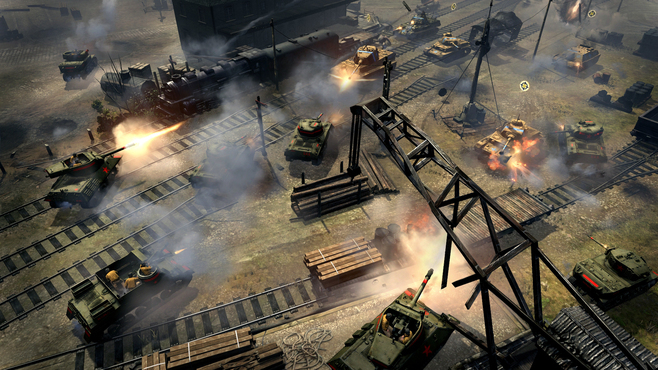 Company of Heroes 2 - The Western Front Armies - US Forces Screenshot 2
