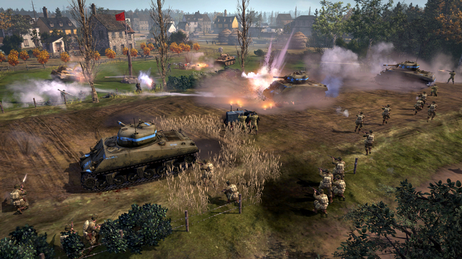 Company of Heroes 2 - The Western Front Armies - US Forces Screenshot 3