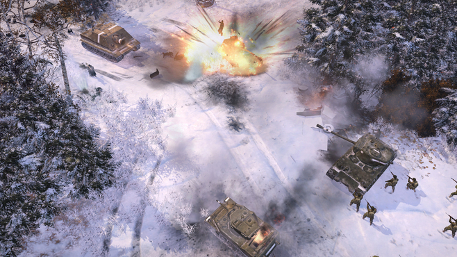 Company of Heroes 2 - The Western Front Armies - US Forces Screenshot 4