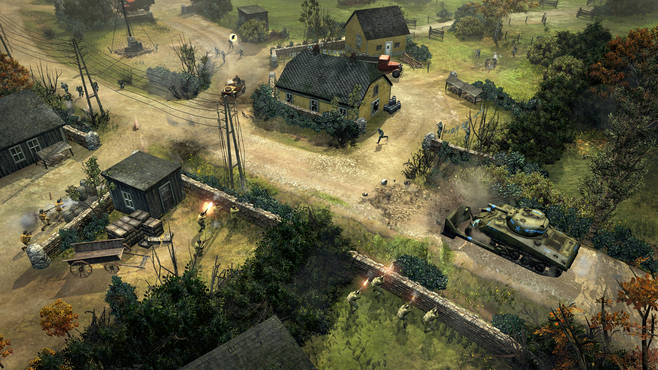 Company of Heroes 2 - The Western Front Armies - US Forces Screenshot 5