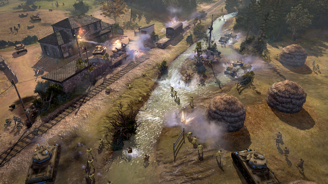 Company of Heroes 2 - The Western Front Armies - US Forces Screenshot 6