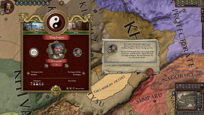 Crusader Kings II: Jade Dragon Screenshot 2