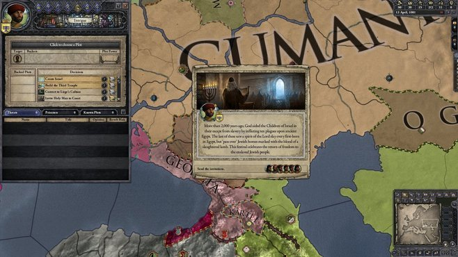 Crusader Kings II: Sons of Abraham Screenshot 4
