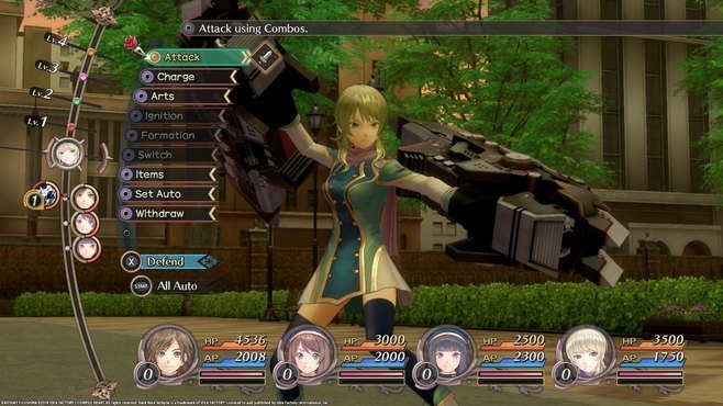 Dark Rose Valkyrie Screenshot 6