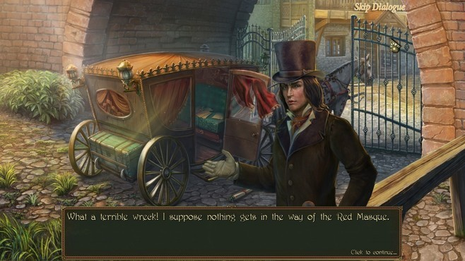 Dark Tales: Edgar Allan Poe's The Masque of the Red Death Collector's Edition Screenshot 6