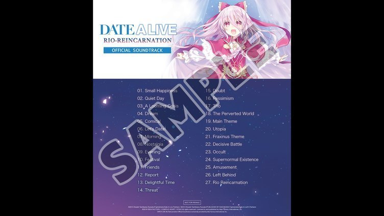 DATE A LIVE Rio Reincarnation Deluxe Pack Screenshot 7