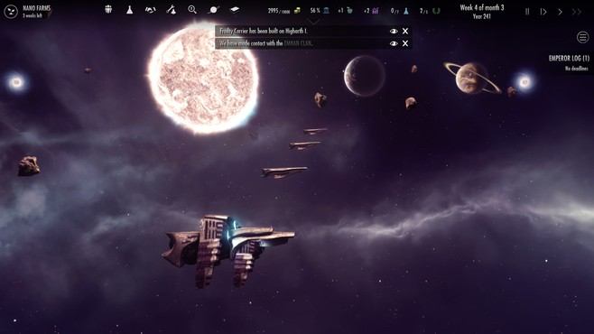 Dawn of Andromeda: Subterfuge Screenshot 1