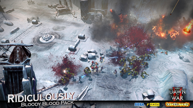 Warhammer 40,000: Dawn of War II - Retribution - Ridiculously Bloody Blood Pack Screenshot 1
