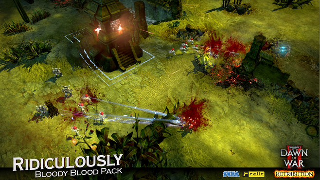 Warhammer 40,000: Dawn of War II - Retribution - Ridiculously Bloody Blood Pack Screenshot 5