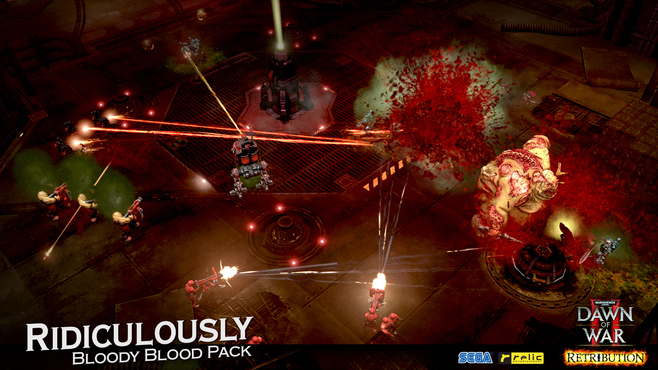 Warhammer 40,000: Dawn of War II - Retribution - Ridiculously Bloody Blood Pack Screenshot 6
