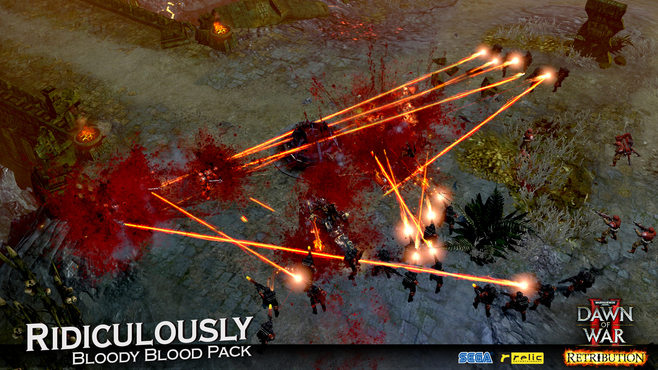 Warhammer 40,000: Dawn of War II - Retribution - Ridiculously Bloody Blood Pack Screenshot 8