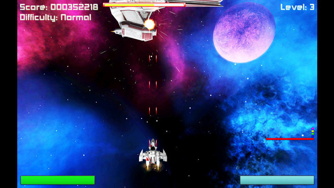 Deep Space Invaders Screenshot 2