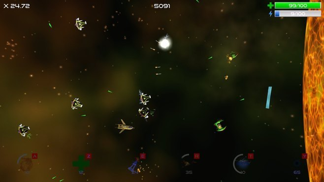 Deep Space Reflections Screenshot 2