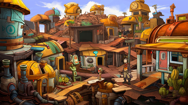 Deponia Screenshot 4