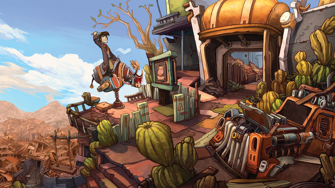 Deponia - The Complete Journey Screenshot 2