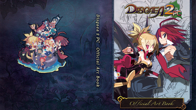 Disgaea 1 PC + Disgaea 2 PC Digital Doods Edition (Games + Art Books) Screenshot 8