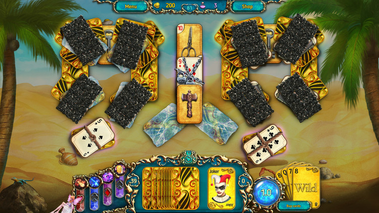 Dreamland Solitaire: Dark Prophecy Screenshot 2