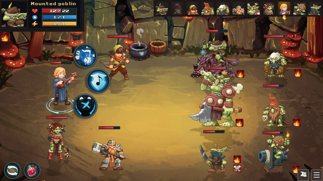 Dungeon Rushers Screenshot 1