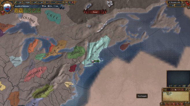 Europa Universalis IV: El Dorado Collection Screenshot 8