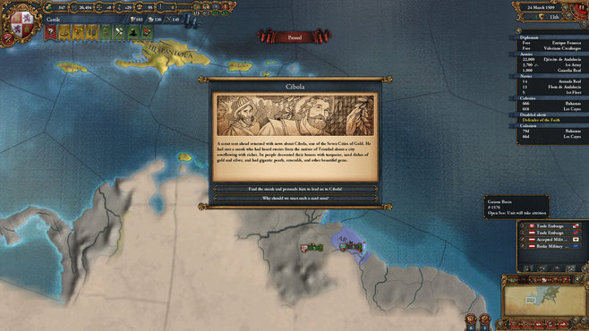 Europa Universalis IV: El Dorado Collection Screenshot 1