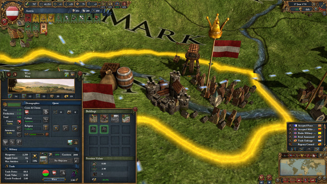 Europa Universalis IV: Empire Founder Pack Screenshot 10