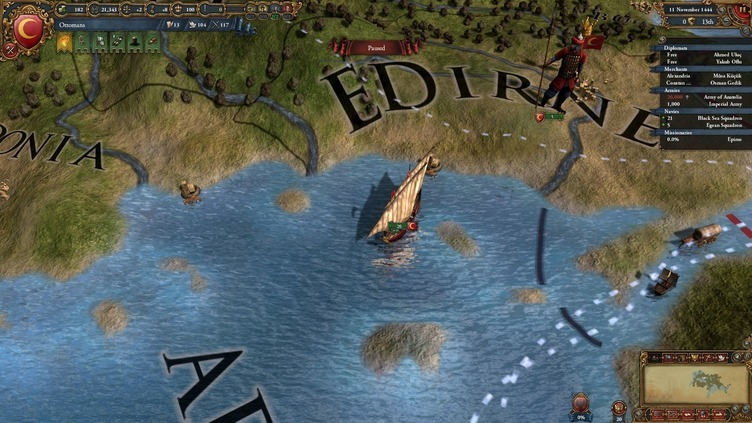 Europa Universalis IV: Muslim Ships Unit Pack Screenshot 7