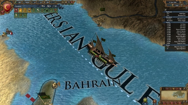 Europa Universalis IV: Muslim Ships Unit Pack Screenshot 10