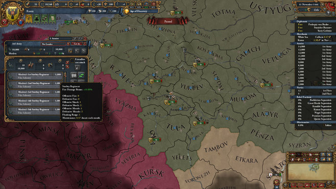 Europa Universalis IV: Third Rome Screenshot 1