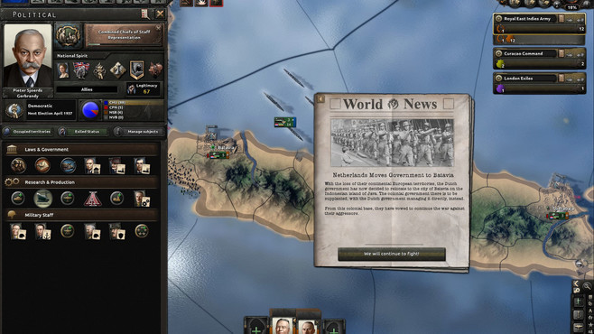Hearts of Iron IV: Man the Guns Screenshot 4