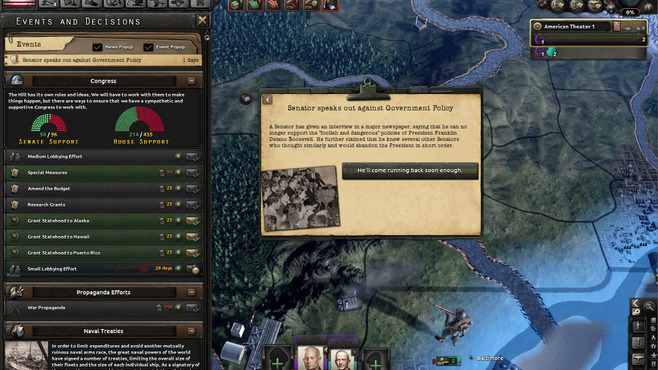 Hearts of Iron IV: Man the Guns Screenshot 19