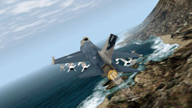 F-16 Multirole Fighter Screenshot 1