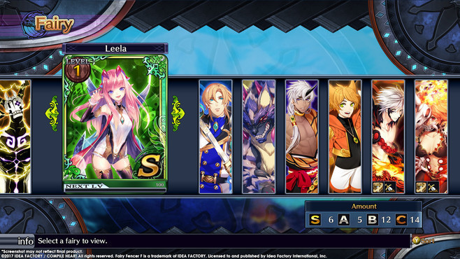 Fairy Fencer F ADF Fairy Set 1: Ahab and Leela Screenshot 2