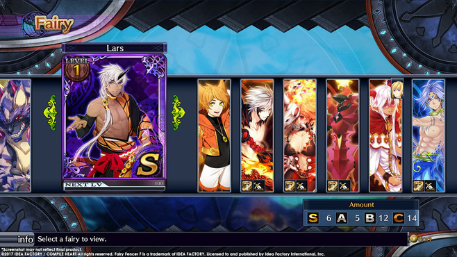 Fairy Fencer F ADF Fairy Set 3: Lars and Foxer Screenshot 1