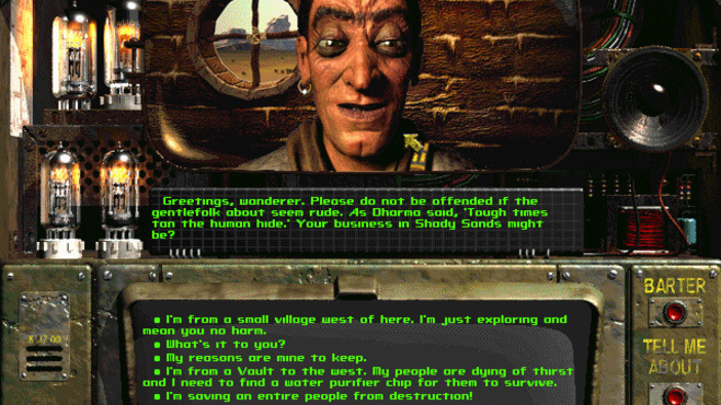 Fallout: A Post Nuclear Role Playing Game Screenshot 5