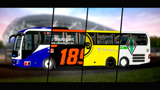 Fernbus Simulator - Football Team Bus Screenshot 7