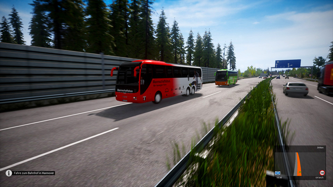 Fernbus Simulator - Football Team Bus Screenshot 9