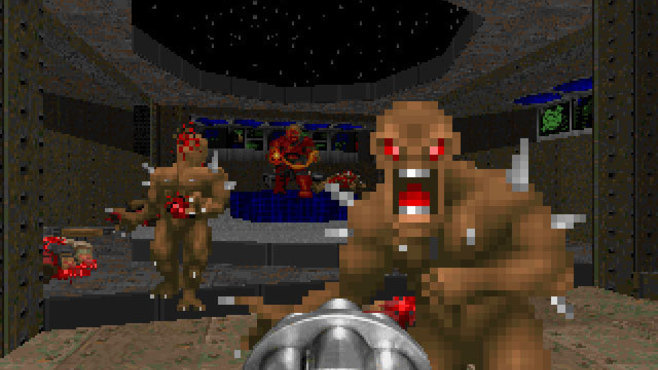 Final DOOM Screenshot 1