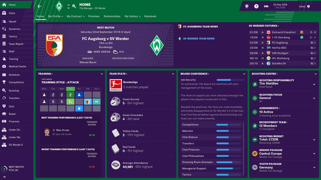 Football Manager 2019 Screenshot 7