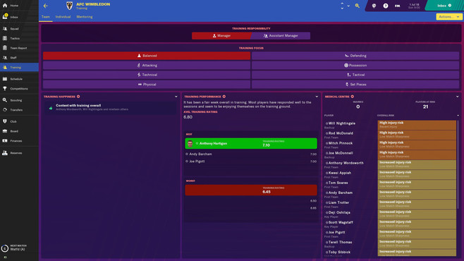 Football Manager 2019 Touch Screenshot 2
