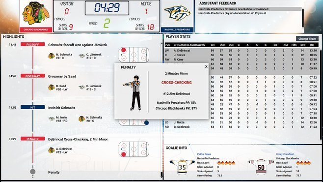 Franchise Hockey Manager 5 Screenshot 7