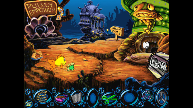 Freddi Fish 2: The Case of the Haunted Schoolhouse Screenshot 6