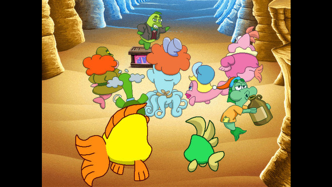 Freddi Fish 5: The Case of the Creature of Coral Cove Screenshot 7