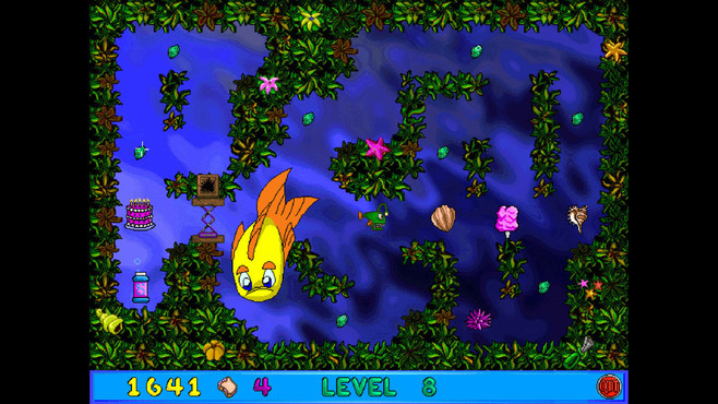 Freddi Fish and Luther's Maze Madness Screenshot 1