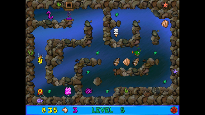 Freddi Fish and Luther's Maze Madness Screenshot 4