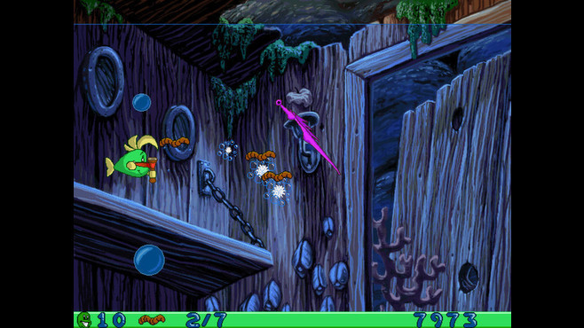 Freddi Fish and Luther's Water Worries Screenshot 5