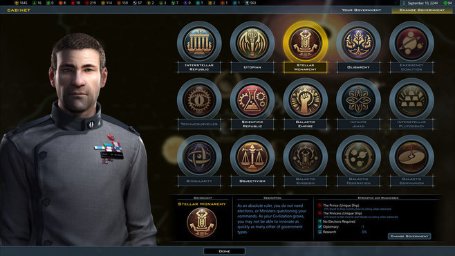 Galactic Civilizations III: Intrigue Expansion Screenshot 3