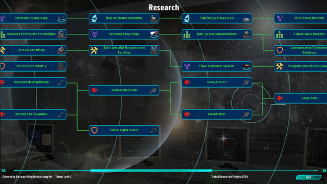 Galactic Inheritors Screenshot 4