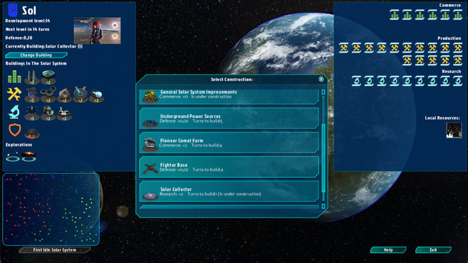 Galactic Inheritors Screenshot 9