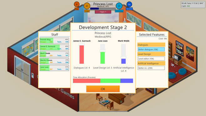 Game Dev Tycoon Screenshot 4