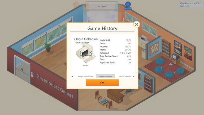 Game Dev Tycoon Screenshot 6